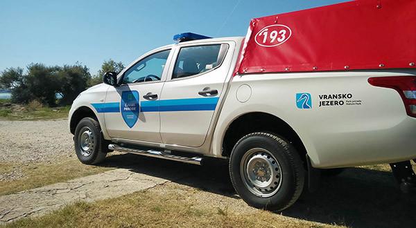 New firefighting vehicle
