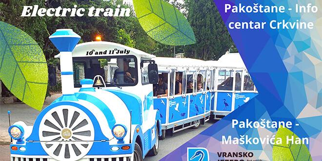 Take the Electric Train to Vransko Lake Nature Park