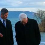 Predsjednik Republike Hrvatske na Vranskom jezeru