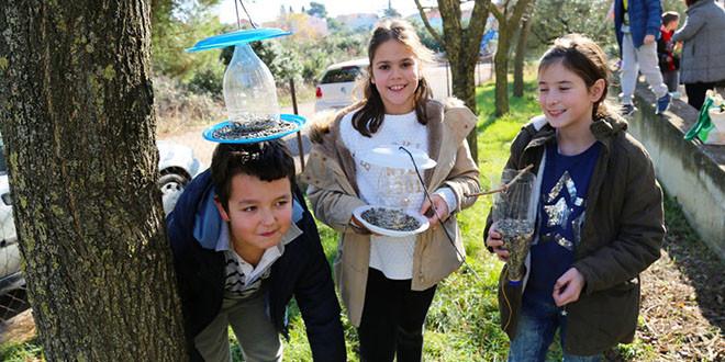 Djeca OŠ Bartul Kašić i PŠ Bokanjac brinu o pticama