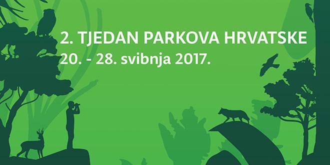 Drugi Tjedan parkova Hrvatske od 20. do 28. svibnja 2017.