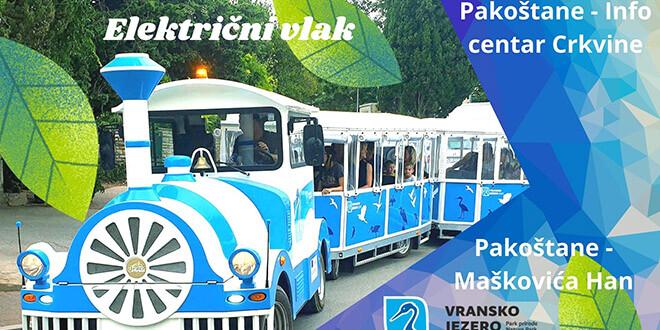 Električnim vlakom otkrijte Vranski (k)raj i pogledajte novi promotivni film o mjestu kojem ćete se uvijek vraćati!