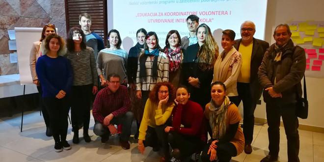 Održana edukacija za koordinatore volontera