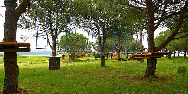 Otvorenje Adrenalinskog parka u Parku prirode Vransko jezero