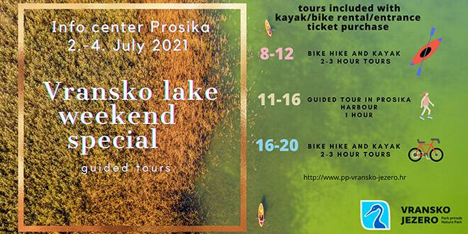 Prilika za poseban vikend na Vranskom jezeru