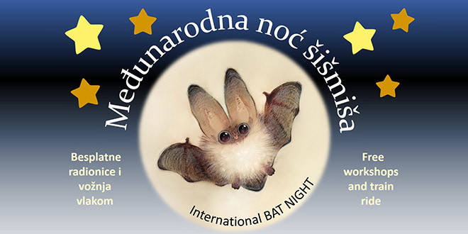 Proslavite s nama Međunarodnu noć šišmiša