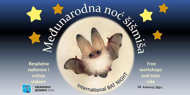Šišmišijada  u Parku prirode Vransko jezero – pridružite se proslavi Međunarodne noći šišmiša!