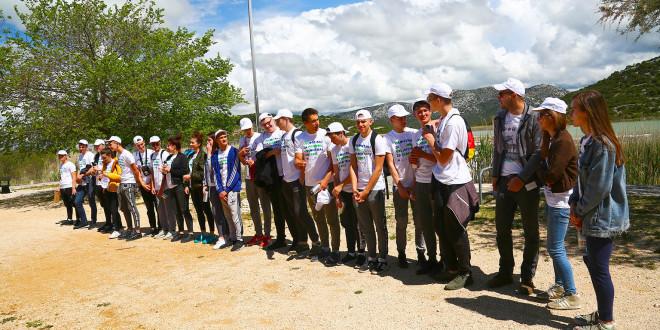 Uspješno odrađena volonterska akcija na Vranskom jezeru